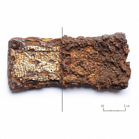 MicroXRF analysis of the horse harness fragment
